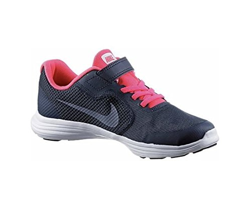Nike Revolution 3 (TDV) Thunder Dark SKY RAC, Zapatillas de Deporte Unisex  Niño