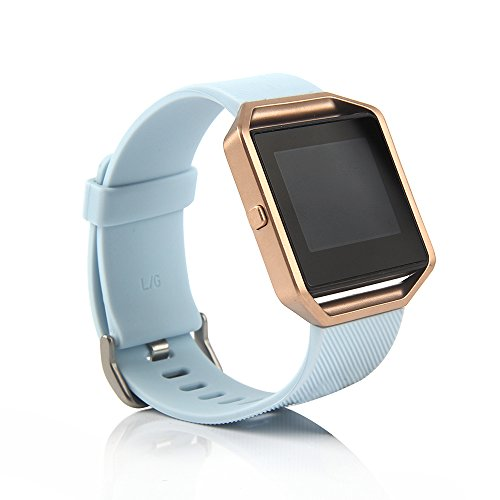 Fitbit Blaze Accessories Classic Band, BillionGroup Soft Silicone Replacement Sport Strap Band with Quick Release Pins for Fitbit Blaze Smart Fitness Watch, Frame Not Included