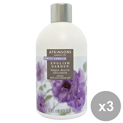 Set 3 Atkinsons bain Gentle Camélia 300 ml. Les savons et cosmétiques