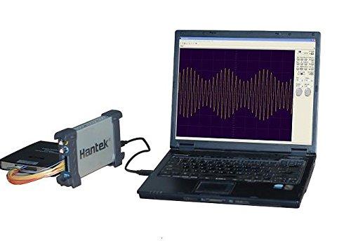 Hantek 1025G - Generador de forma de onda arbitraria/función, USBXI 25 MHz Arb. Wave 200MSa/s DDS 200Mbit/s adaptador y tarjeta de red