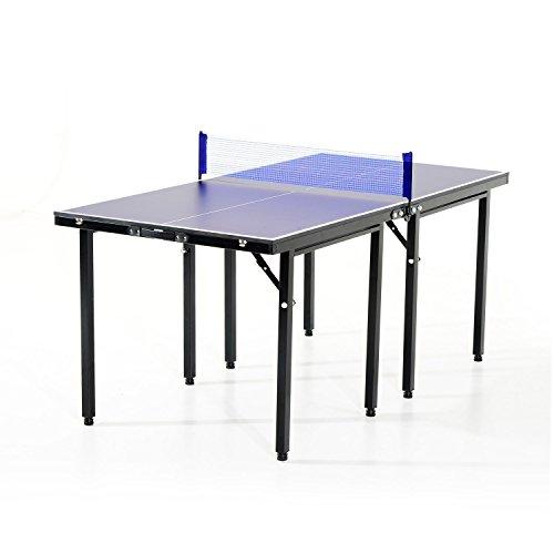 Mesa Ping Pong Plegable 153x76.5x67cm + Red Tenis