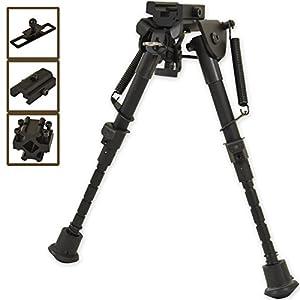 Nitehawk - Bipied pour fusil de chasse - réglable/pivotant - noir