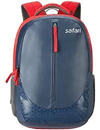 Safari 40 Ltrs Blue Laptop Backpack (Zippy Blue)
