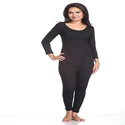 Splash Cosy/Thermal/Winter Wear Women's Upper and Lower(STRAIPE)