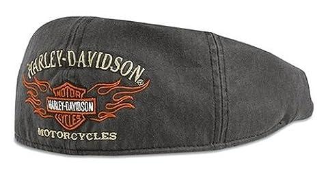 Casquette Harley-Davidson® Motif flamme Gris Moto Idée cadeau 99537–11VM L gris