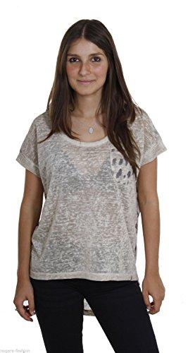 Key Largo - T-shirt de sport - Uni - Manches Courtes - Femme Sable