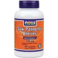 NOW Foods - Saw Palmetto bacche salute 550 mg. di uomini - 100 capsule