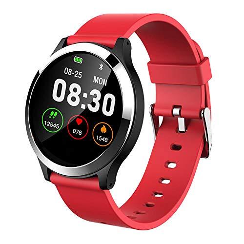 YHLDCA Smart Armband ECG Multifunktions-Sportuhr PPG + EKG-Monitor HRV-Bericht Blutdruck-Herzfrequenz-Test älteres Armband Wasserdichte Männer und Frauen Armband.