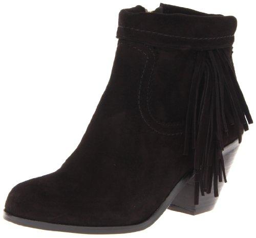 Sam Edelman Louie 8, Boots femme Black Suede