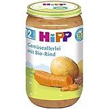 Hipp Gemüseallerlei mit Bio-Rind, 6er Pack (6 x 250g)