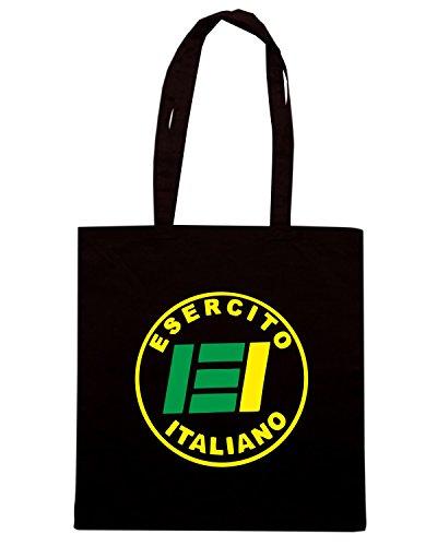 T-Shirtshock - Borsa Shopping TM0603 ESERCITO ITALIANO Nero