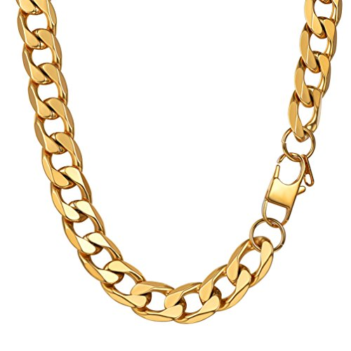 PROSTEEL Gold Plated Chain Curb ...