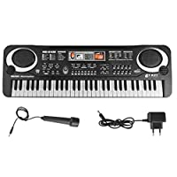 Multi-function 61 Keys Keyboard electronic organ with Microphone Music Simulation Piano Children Toys educational Toy Kids Gifts