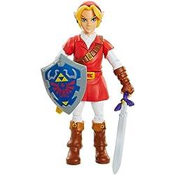 World of Nintendo - Zelda : Ocarina of Time - Link dans la Tunique Goron - Figurine 10 cm
