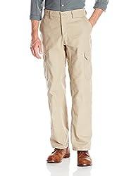 Wrangler Workwear Mens Functional Cargo Work Pant, Khaki, 34x30