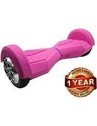 Pink - Carcasa de silicona piel para funda en 8 pulgadas Smart de equilibrio patinete eléctrico Hoverboard Scooter