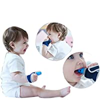 ALAMing Baby Soothing Teething Toys Mitten with Hygienic Travel Bag (1 pieces)