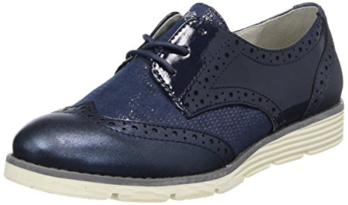 s.Oliver Damen 23623 Oxfords, Blau (Navy Comb.), 39 EU