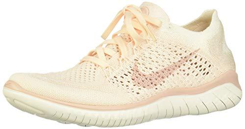 Nike Damen Laufschuh Free Run Flyknit 2018 Sneakers, Mehrfarbig (Guava Ice/Particle Beige/Sail/Rust Pink 001), 40 EU