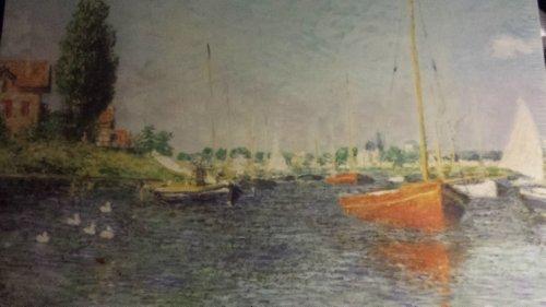 Preisvergleich Produktbild Red Boats, Argenteuil, 1875 Claude Monet, French (1840-1926)