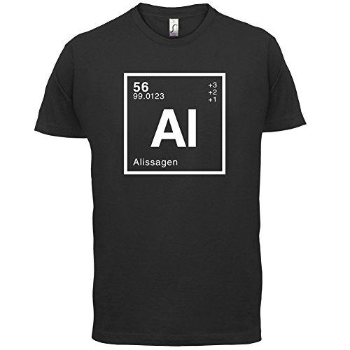 Alissa Periodensystem - Herren T-Shirt - 13 Farben Schwarz