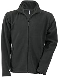 Kariban Herren Anti-Pilling-Fleece-Jacke mit durchgehendem Reißverschluss
