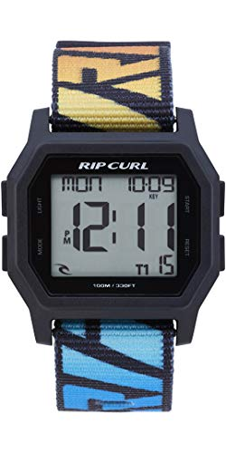 RIP CURL Mens Atom Webbing Strap Digital Watch