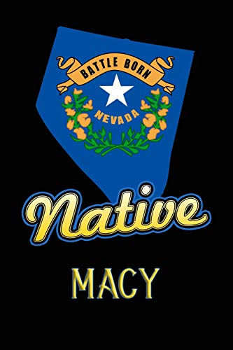 Nevada Native Macy: College Ruled | Composition Book