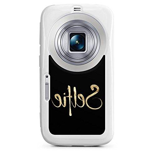 DeinDesign Samsung Galaxy K Zoom Hülle Silikon Case Schutz Cover Selfie Spiegel Gold