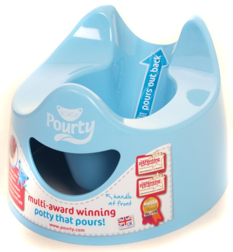 Pourty Easy-to-Pour Potty (Blue)