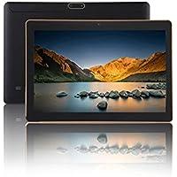 """SANNUO Tablette Tactile 10,1"""", Android 7,0, Quad Core, 2 Go + 16 Go, Double SIM, Double Caméra, 1280 × 800 Écran IPS, GPS, Wi-FI, OTG. (Black)"""