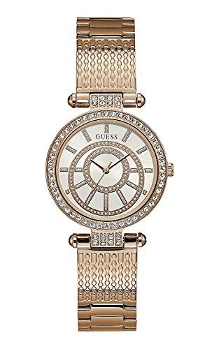 Guess Damen-Armbanduhr, Roségold W1008L3 (Guess Rose Gold Watch)