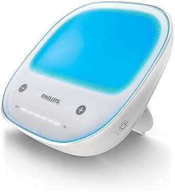 Philips HF3430/01 EnergyUp Blue (intensives blaues Licht, UV-frei, Dimmer), weiß