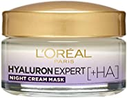 L'Oréal Hyaluron Expert Night Moisturizer Cream Mask, 5