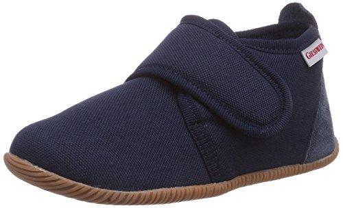 Giesswein Strass - Slim Fit, Pantofole bambini, Blu (Blau (dk.blau / 548)), 27