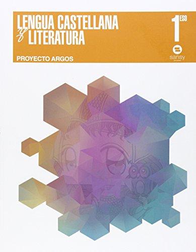 Lengua y literatura ESO1 (Proyecto Argos) - 9788415721215 por Francisca Sánchez Pinilla