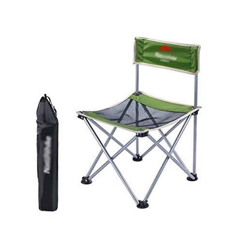 XHCP Outdoor Hocker Angelstuhl Bequemer, atmungsaktiver Klappstuhl Leicht zu lagernde Stühle Abnehmbarer Stuhl Barbecue Hocker
