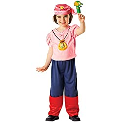 Disfraz Izzy «Jake y los Piratas de Nunca Jamás» 5-6 años.