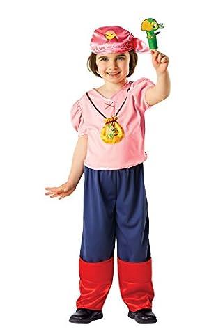 Izzy - Jake und die Nimmerland Piraten - Kinder Kostüm - Medium - 116cm