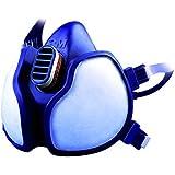 3M 4251C Respiratore per Gas e Vapori a Semimaschera, Bianco