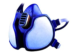 3M 4251 Half Mask Spray Paint Respirator - Blue, EN safety certified