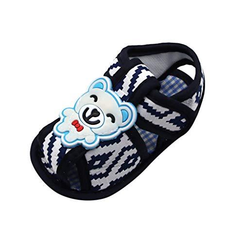 Weibliche Kostüm Bären - Precioul Baby männliche und weibliche Baby Print Cartoon Bär Kleinkind Schuhe Schnalle Schuhe MäDchen Kleinkind Krabbelschuhe FüR Hausschuhe Kinder
