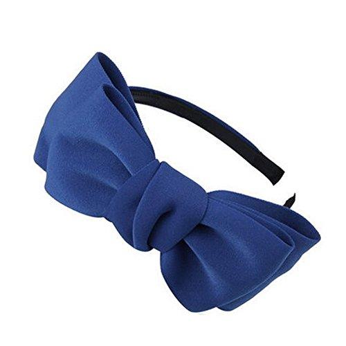 Filles Mignon bowknot cheveux Accessoire cheveux bande Artesanat Bandeau, Bleu