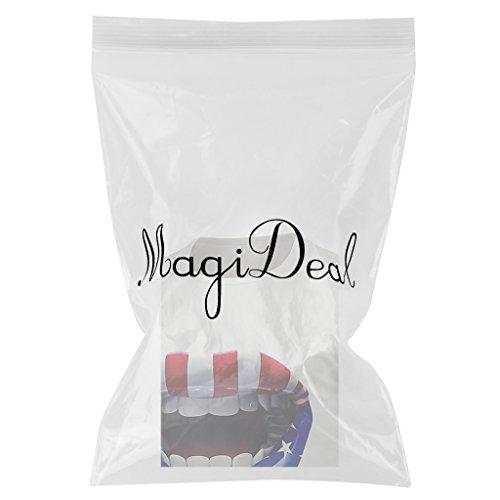 MagiDeal herren Rundhals T-Shirt Top Sommer 3D Druck muster lippendruck
