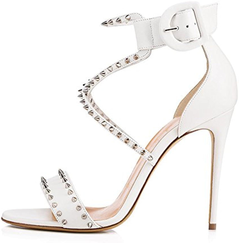 Femmes Chaussures PU Printemps/Été Club rond Chaussures/Gladiator  s Talon Stiletto Bout rond Club Mesdames Glitter...B07DFZGQV9Parent 1dcb0c