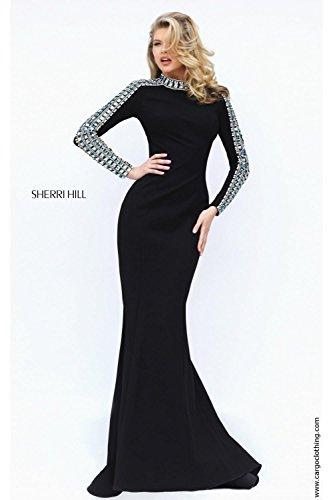 sherri-hill-vestido-ajustado-manga-larga-para-mujer-negro-negro
