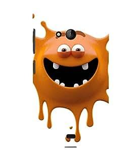 Printvisa brown monster cartoon character Back Case Cover for Lumia Lumia 540::Microsoft Lumia 540