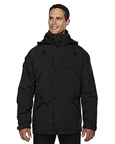 North End Mens 3-in-1 Techno Series Parka. 88007 - XX-Large - Black (US)