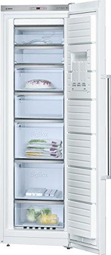 Bosch GSN36AW40 Serie 6 Stand-Gefrierschrank / A+++ / 186 cm Höhe / 156 kWh/Jahr / 237 L Gefrierteil / NoFrost