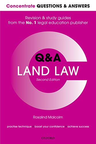 Concentrate Questions and Answers Land Law: Law Q&A Revision and Study Guide (Concentrate Questions & Answers Book 1) (English Edition)